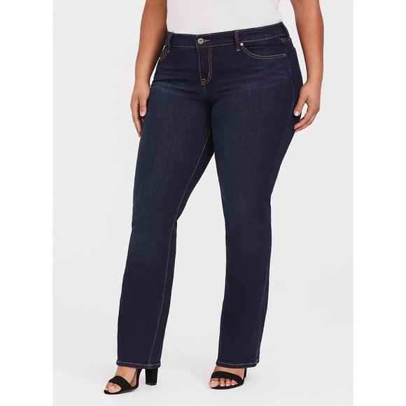 Torrid Relaxed Vintage Stretch Bootcut Jean